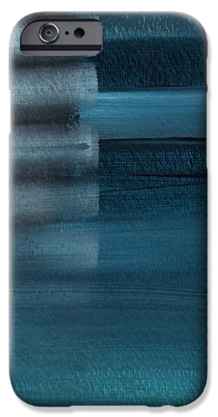 Swimming iPhone 6s Case - Shallow- Abstract Art By Linda Woods by Linda Woods