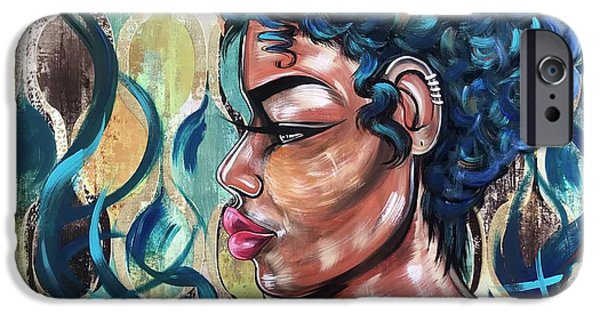 iPhone 6s Case - She Was A Cool Flame by Artist RiA