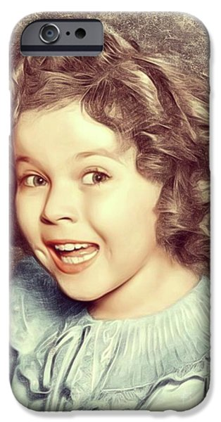 Shirley Temple iPhone 6s Case - Shirley Temple, Actress by Mary Bassett