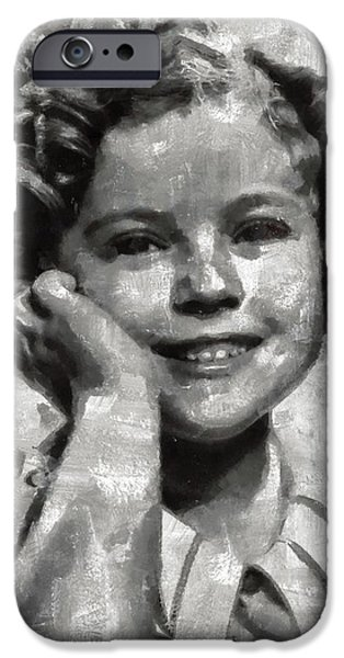 Shirley Temple iPhone 6s Case - Shirley Temple By Mary Bassett by Mary Bassett