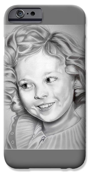 Shirley Temple iPhone 6s Case - Shirley Temple by Fred Larucci