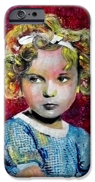 Shirley Temple iPhone 6s Case - Shirley Temple by Marcelo Neira