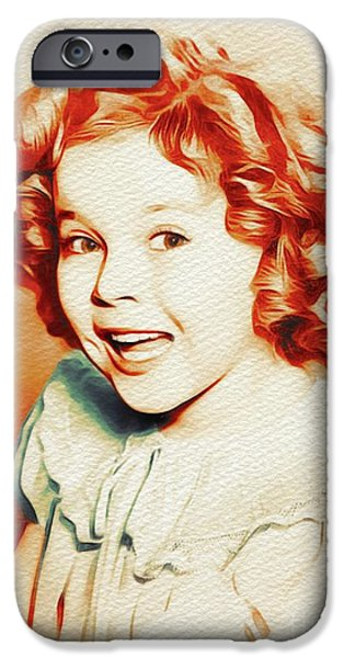 Shirley Temple iPhone 6s Case - Shirley Temple, Movie Star by John Springfield