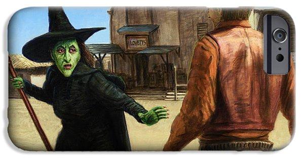 Wizard iPhone 6s Case - Showdown by James W Johnson