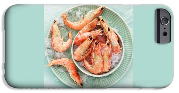 Shrimp On A Plate IPhone 6s Case by Anfisa Kameneva