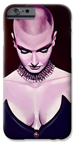 Cobra iPhone 6s Case - Sinead O'connor by Paul Meijering