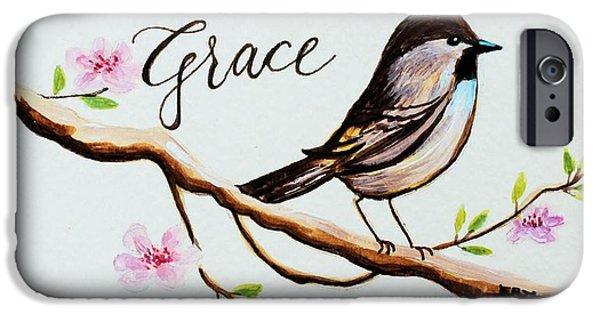 Garden iPhone 6s Case - Sing Grace by Elizabeth Robinette Tyndall