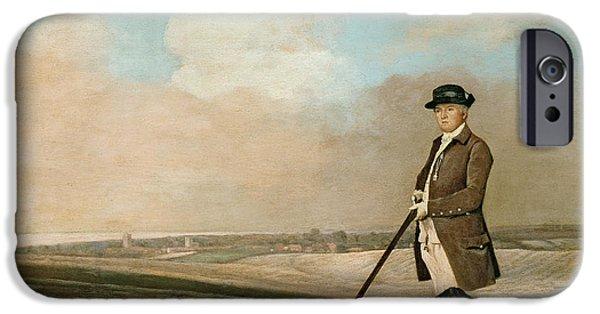 Sir John Nelthorpe IPhone Case by George Stubbs