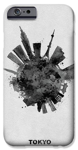 Black Skyround / Skyline Art Of Tokyo, Japan IPhone 6s Case