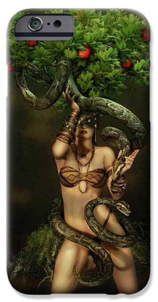 Snake Charmer IPhone 6s Case by Shanina Conway
