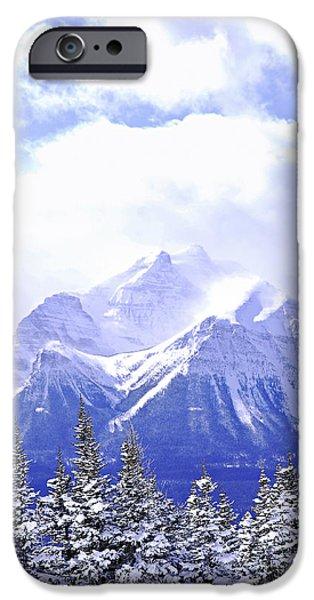 Mountain iPhone 6s Case - Snowy Mountain by Elena Elisseeva