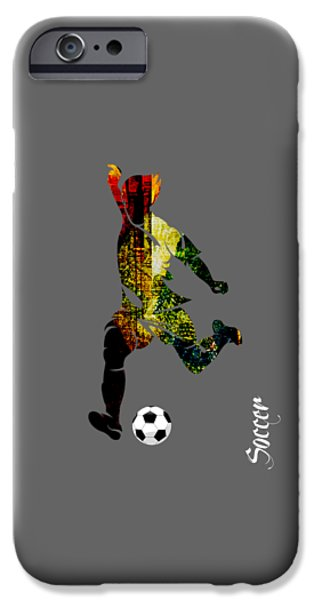 Soccer Collection IPhone 6s Case by Marvin Blaine