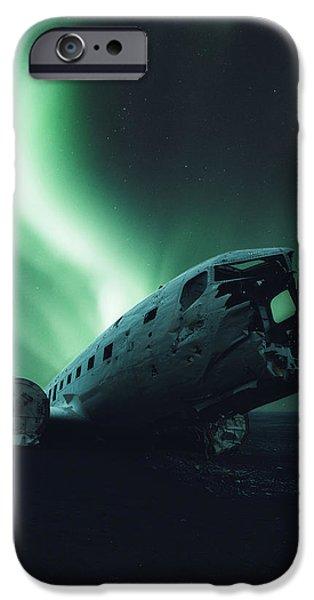 Airplane iPhone 6s Case - Solheimsandur Crash Site by Tor-Ivar Naess