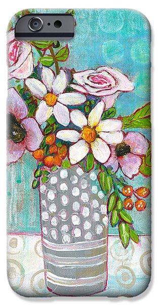 Sophia Daisy Flowers IPhone 6s Case by Blenda Studio