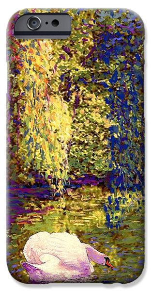 Impressionism iPhone 6s Case - Swans, Soul Mates by Jane Small