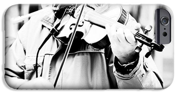 Violin iPhone 6s Case - Sounds Of A Stranger by Gabriela Insuratelu