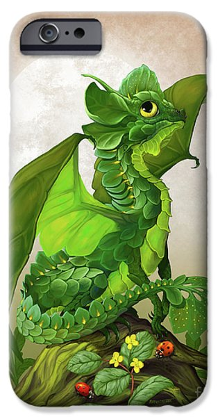 Spinach Dragon IPhone 6s Case by Stanley Morrison