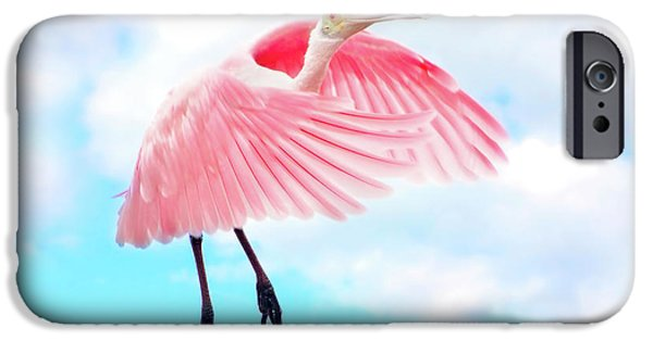 Spoonbill Launch IPhone 6s Case by Mark Andrew Thomas