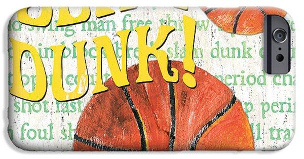 Sports Fan Basketball IPhone 6s Case by Debbie DeWitt