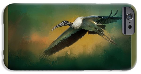 Stork iPhone 6s Case - Spring Flight by Marvin Spates