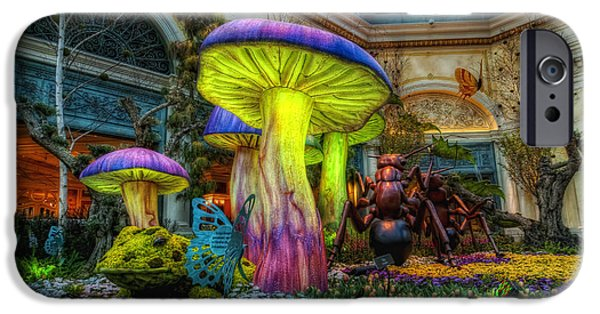 Spring Mushrooms IPhone 6s Case by Stephen Campbell