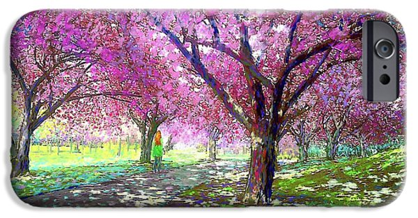Spring Rhapsody, Happiness And Cherry Blossom Trees IPhone 6s Case