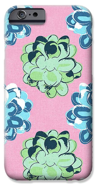 Spring Succulents- Art By Linda Woods IPhone 6s Case by Linda Woods