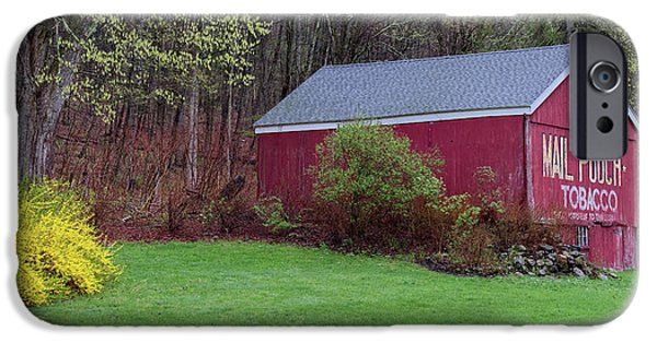IPhone 6s Case featuring the photograph Spring Tobacco Barn by Bill Wakeley