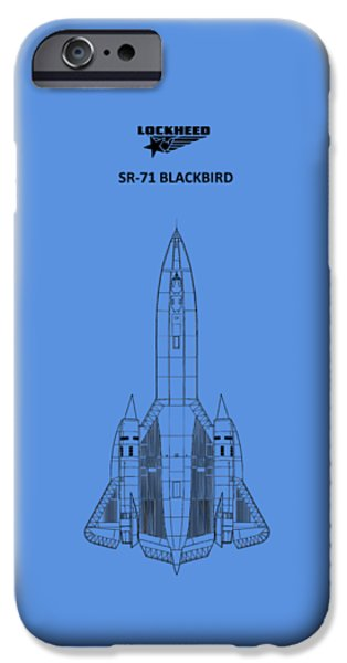 Sr-71 Blackbird IPhone 6s Case by Mark Rogan