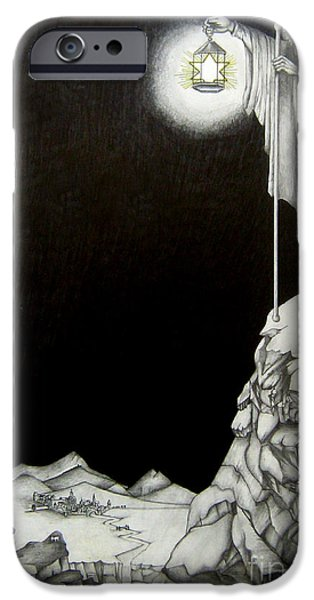 Robert Plant iPhone 6s Case - Stairway To Heaven by Patrice Torrillo