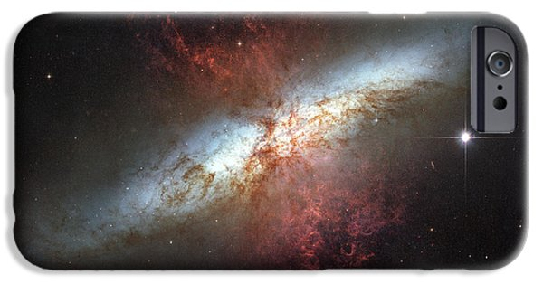 Starburst Galaxy, Messier 82 IPhone Case by Stocktrek Images