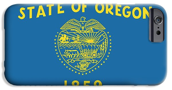 State Flag Of Oregon IPhone 6s Case