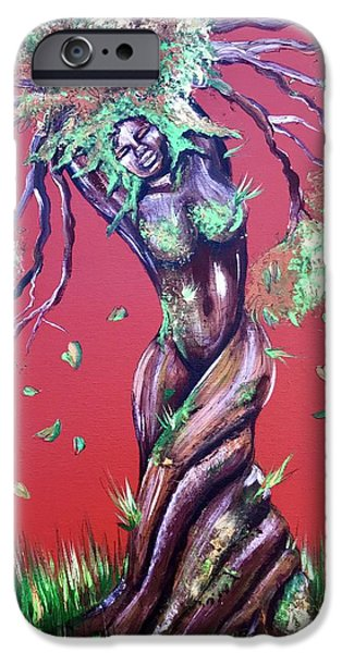 iPhone 6s Case - Stay Rooted- Stay Grounded by Artist RiA