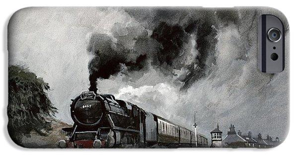 Steam Train At Garsdale - Cumbria IPhone 6s Case