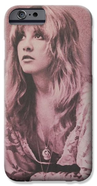 Music iPhone 6s Case - Stevie Nicks  by Donna Wilson