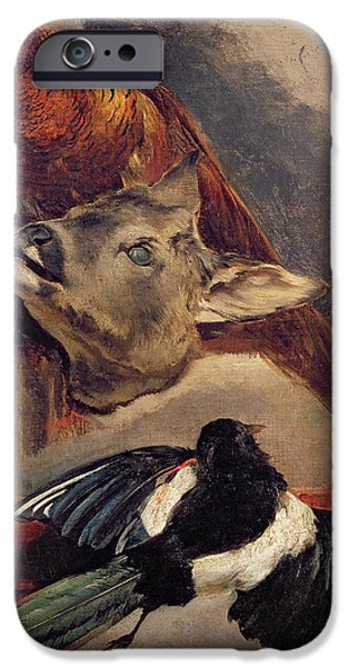 Magpies iPhone 6s Case - Still Life Of Game by Theodore Gericault