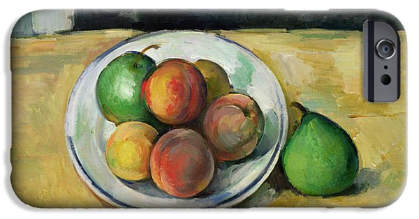 Still Life With A Peach And Two Green Pears IPhone 6s Case