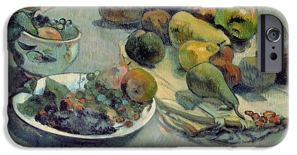 Still Life With Fruit IPhone 6s Case by Paul Gauguin