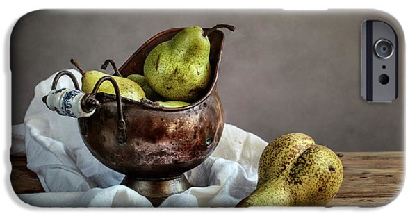 Pear iPhone 6s Case - Still-life With Pears by Nailia Schwarz