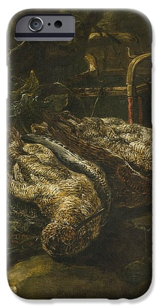 Woodcock iPhone 6s Case - Still Life With Woodcocks by Jan Fyt
