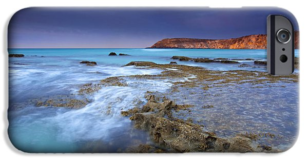 Kangaroo iPhone 6s Case - Storm Light by Mike  Dawson