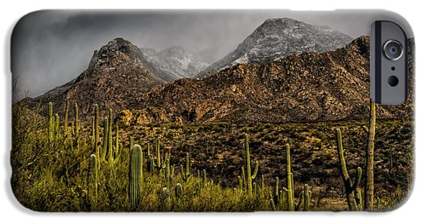 Storm Over Catalinas 15 IPhone 6s Case by Mark Myhaver