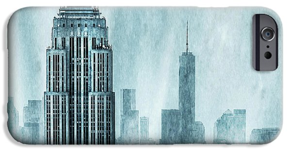 New York City iPhone 6s Case - Storm Troopers by Az Jackson