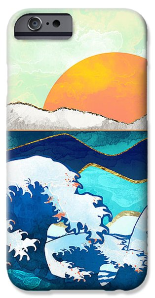 Landscapes iPhone 6s Case - Stormy Waters by Spacefrog Designs