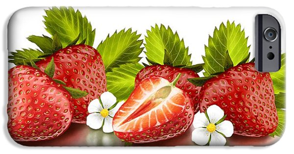 Strawberries IPhone 6s Case