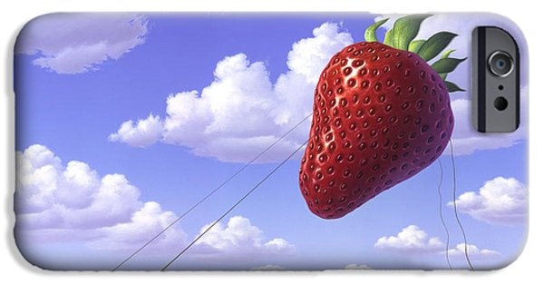Fruits iPhone 6s Case - Strawberry Field by Jerry LoFaro