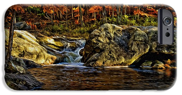 Stream In Autumn 57 In Oil IPhone 6s Case by Mark Myhaver