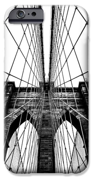 Brooklyn Bridge iPhone 6s Case - Strong Perspective by Az Jackson