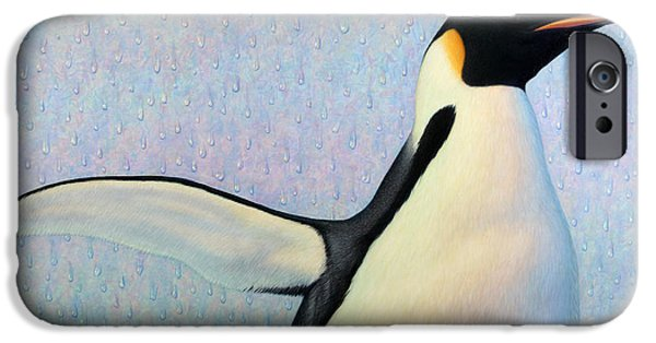 Penguin iPhone 6s Case - Summertime by James W Johnson