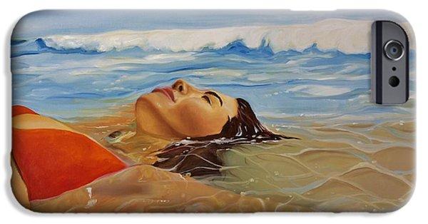 Scuba Diving iPhone 6s Case - Sunbather by Crimson Shults